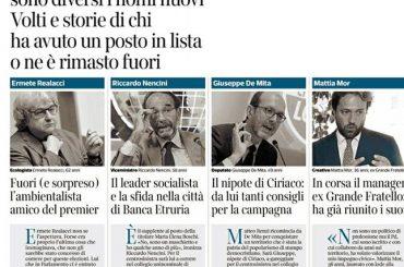 """""""Il nostro cognome è un modo di pensare"""": oggi sul Corriere della Sera"""